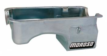 Moroso Performance Products - Moroso SB Ford 5.0L Oil Pan w/ Deep Rear Sump- 7 Qt.
