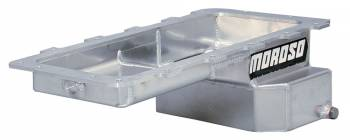 Moroso Performance Products - Moroso Ford 4.6/5.4L Fab. Aluminum Oil Pan w/ Kick-Out Sump