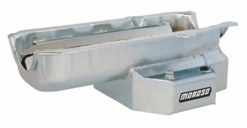 """Moroso Performance Products - Moroso SB Chevy Stage I """"SC Series"""" Oil Pan - Painted Steel - 1986 and Newer Blocks w/ 1-Piece Rear Main Seal"""