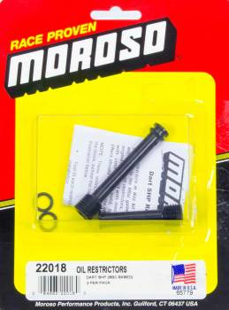 Moroso Performance Products - Moroso Oil Restrictors - SB Chevy - Dart SHP