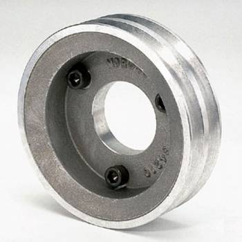 "Moroso Performance Products - Moroso Double Groove Pulley - Chevrolet 396-454 - Double Groove - Pre-1969 (With Short Water Pump) - 25% Reduction - 5.40"" O.D."