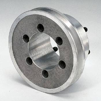 "Moroso Performance Products - Moroso Single Groove Crankshaft Pulley - Chrysler 340-440 - Single Groove - Pre-1972 - w/ Standard Dampener - 30% Reduction - 5.00"" O.D."