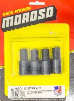 "Moroso Performance Products - Moroso Stud Girdle Adjustable Nuts 7/16"" 4-Pack"