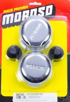 "Moroso Performance Products - Moroso Chrome Push-"" Breather"