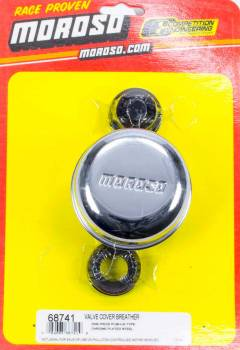 Moroso Performance Products - Moroso Chrome Filter Water Pum Pc. V Gromme