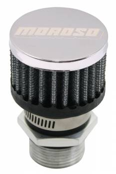 Moroso Performance Products - Moroso Valve Cover Breather Kit - Non-Hooded