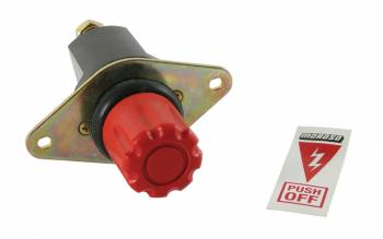 Moroso Performance Products - Moroso Heavy-Duty Battery Disconnect Switch - Push On/Off