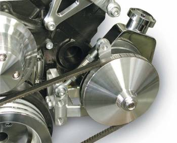 March Performance - March Performance 66-77 Saginaw Power Steering Brackt Kit Adjustable