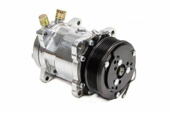 March Performance - March Performance Air Conditioner Compressor 134 Polished