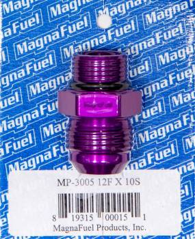 MagnaFuel - MagnaFuel #12 O-Ring to #10 O-Ring Male Union Reducer Fitting