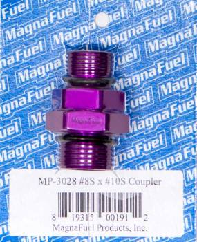 MagnaFuel - MagnaFuel #10 to #8 Straight Coupler Fitting