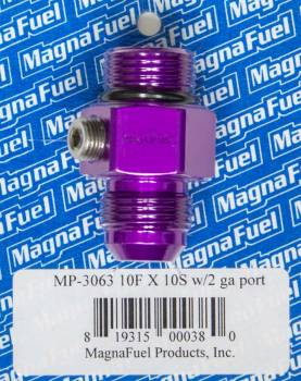 MagnaFuel - MagnaFuel #10 Male Port to #10 Adapter Fitting