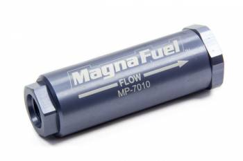 MagnaFuel - MagnaFuel Small In-Line Fuel Filter - 25 Micron