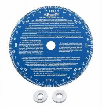"Mr. Gasket - Mr. Gasket Universal° Wheel -° Wheel - Aluminum - Blue Anodized - 7"" Diameter"