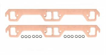 Mr. Gasket - Mr. Gasket Copperseal Exhaust Gasket Set - Dog Leg Port