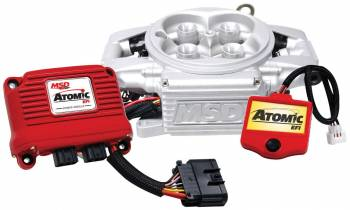 MSD - MSD Atomic EFI Basic Kit - Throttle Body Includes Throttle Body