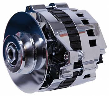 MSD - MSD DynaForce Alternator - 120 Amp - Chrome