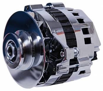 MSD - MSD DynaForce Alternator - 160 Amp - Chrome