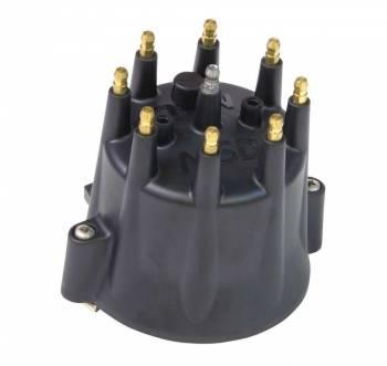 MSD - MSD Black HEI Distributor Cap for Chevy V8 w/ Retainer