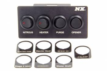 Nitrous Express - Nitrous Express (NX) Custom Switch Panel - Mustang