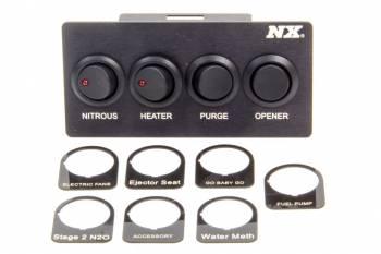 Nitrous Express - Nitrous Express (NX) Custom Switch Panel - Mustang