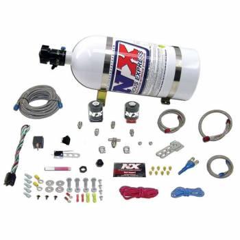 Nitrous Express - Nitrous Express Stage One EFI Nitrous System w/ 10 lb. Bottle and Brackets