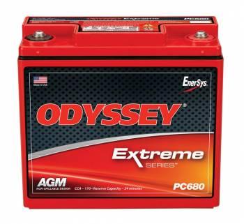 """Odyssey Battery - Odyssey Battery AGM Battery 12V 280 Cranking Amps Top Post Screw"""" Terminals - 7.25"""" L x 6.71"""" H x 3.12"""" W"""