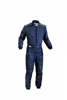 OMP Racing - OMP First S Racing Suit - Black - 56 (Large)