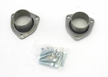Patriot Exhaust - Patriot Collector Reducers - (Set of 2) - 3-Bolt 2.5 Dome Style