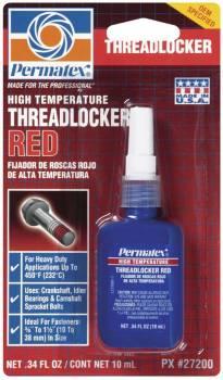 Permatex - Permatex® High Temperature Threadlocker - Red - 10 ml Bottle