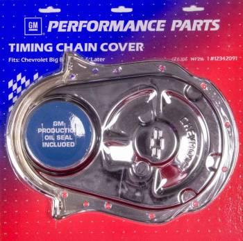 Proform Performance Parts - Proform Timing Chain Cover - Bow Tie Emblem - Chrome