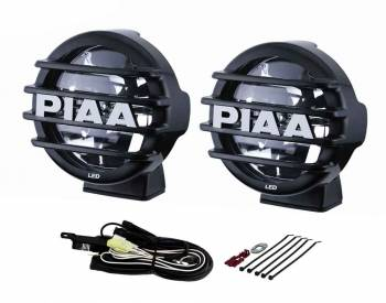 """PIAA - PIAA LP 560 Series -Driving Led Light Assembly 7 Watts 2 White LED 6"""" Diameter - Surface Mount"""