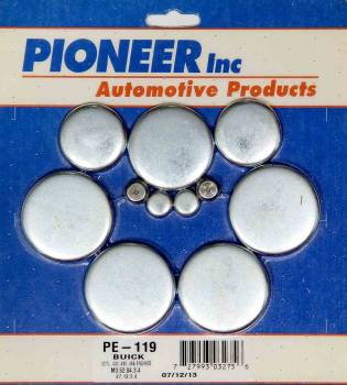 Pioneer Automotive Products - Pioneer Buick 400-455 Freeze Plug Kit