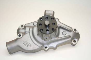 "PRW Industries - PRW INDUSTRIES Mechanical Water Pump High Performance 5/8"" Shaft Short Design - Aluminum"