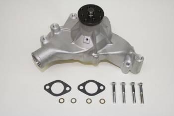 "PRW Industries - PRW INDUSTRIES Mechanical Water Pump High Performance 5/8"" Shaft Long Design - Aluminum"