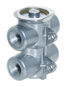 """Perma-Cool - Perma-Cool Four 3/8"""" NPT Female Inlets/Outlets Remote Oil Thermostat Aluminum- Natural"""