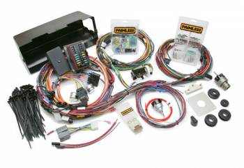 Painless Performance Products - Painless Performance Direct Fit Bronco Harness w/switches (1966-1977) - 28 Circuits