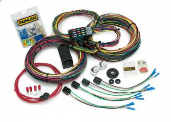 Painless Performance Products - Painless Performance Customizable Ford Color Coded Chassis Harness - 21 Circuits