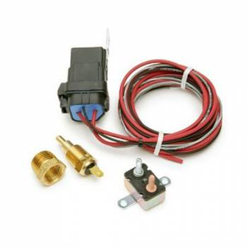 Painless Performance Products - Painless Performance Weatherproof Fan Relay Kit w/ Thermostatic Switch 185F On, 175F Off