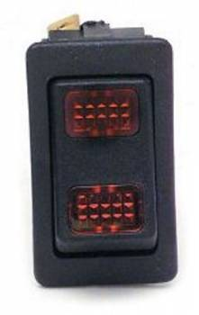 Painless Performance Products - Painless Performance Rocker Switch Red