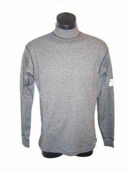 PXP RaceWear - PXP RaceWear Long Sleeve Underwear Top - Gray - Large