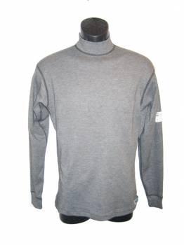 PXP RaceWear - PXP RaceWear Long Sleeve Underwear Top - Gray - 2X-Large