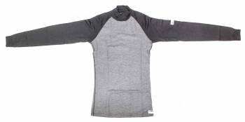 PXP RaceWear - PXP Racewear Raglan Cut Racing Shirt - Two-Tone Black/Grey - X-Large