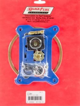 Quick Fuel Technology - Quick Fuel Technology 2300 2 BBL Performance Rebuild Kit - Non-Stick Gaskets