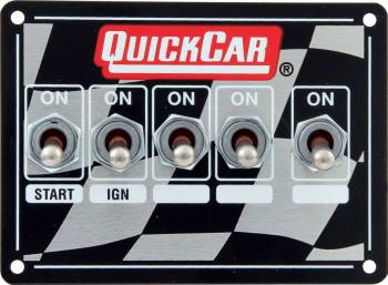 QuickCar Racing Products - QuickCar Ignition Control Panel - Single Box, Dual Pickup