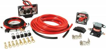 QuickCar Racing Products - QuickCar Dirt Car Wiring Kit w/ 50-010 Panel