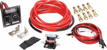 QuickCar Racing Products - QuickCar Ignition Panel w/ Wiring Kit - 4 Gauge