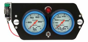 QuickCar Racing Products - QuickCar Ultra Nite Deluxe Sprint Panel - OP/WT