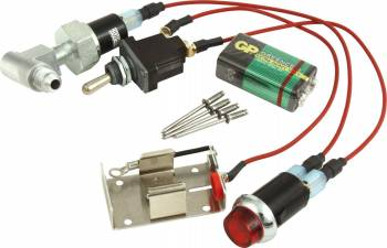 QuickCar Racing Products - QuickCar Quick-Light 9 Volt Oil Pressure Warning Kit - Pro