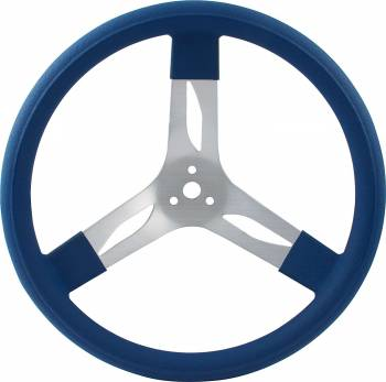 "QuickCar Racing Products - QuickCar Aluminum Steering Wheel 15"" - Blue"